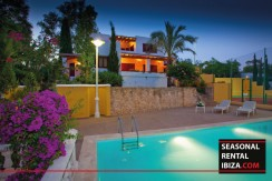 Seasonal Rental Ibiza Villa Tennis