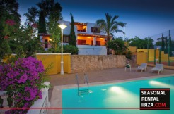 Seasonal Rental Ibiza Villa Tennis