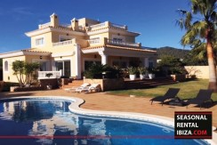 Seasonal Rental ibiza Villa Coca