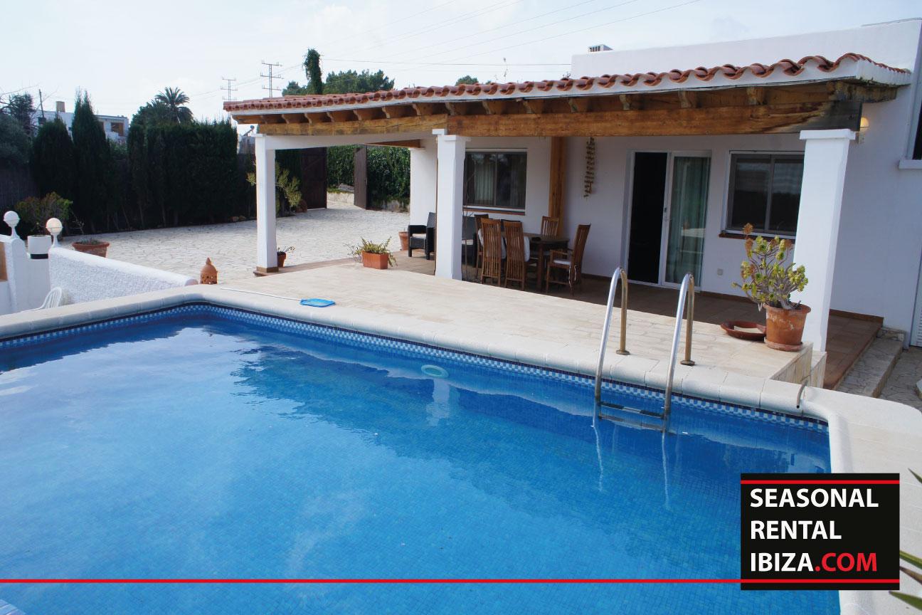Seasonal rental Ibiza Casa Mut