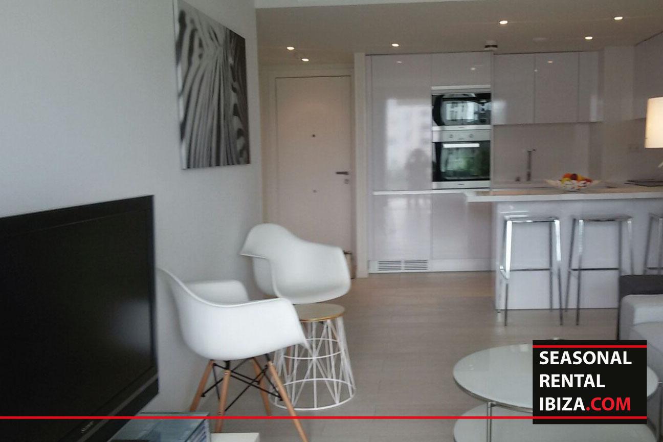 Seasonal rental ibiza apartment white 12