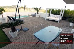Seasonal Rental Ibiza Valor Real Garden 004