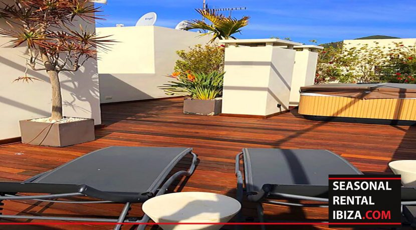 Sesonal rental Ibiza Penthouse Eivissa001
