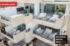 Seasonal rental ibiza Penthouse White Dream - € 4500 per maand.
