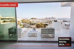 Seasonal rental ibiza Penthouse White Dream - € 4500 per maand.