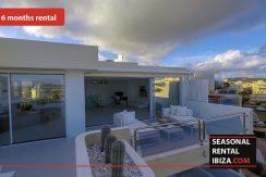Seasonal rental ibiza Penthouse White Dream 11