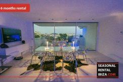 Seasonal rental ibiza Penthouse White Dream 13