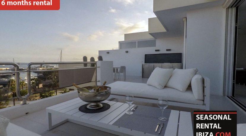 Seasonal rental ibiza Penthouse White Dream 17
