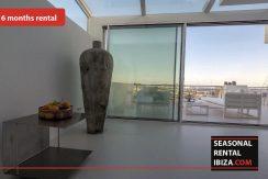 Seasonal rental ibiza Penthouse White Dream 8