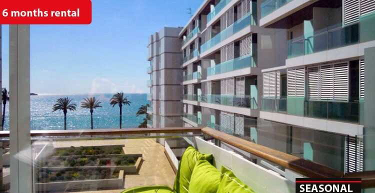 Seasonal rental Ibiza - Duplex Playa Bossa 3