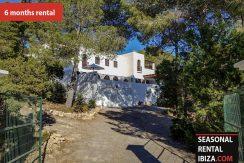 Long term rental ibiza Villa Tarida