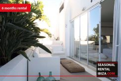 SEASONAL RENTAL IBIZA Penthouse Patio Blanco 5