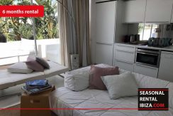 SEASONAL RENTAL IBIZA Penthouse Patio Blanco 7