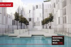 SEASONAL RENTAL IBIZA Penthouse Patio Blanco 9