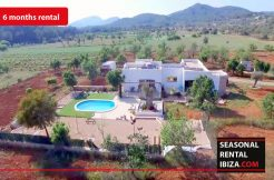 Seasonal rental Ibiza Villa San Mateo