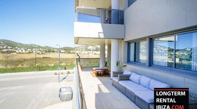 Seasonal rental Ibiza Apartment Playa Talamanca 1