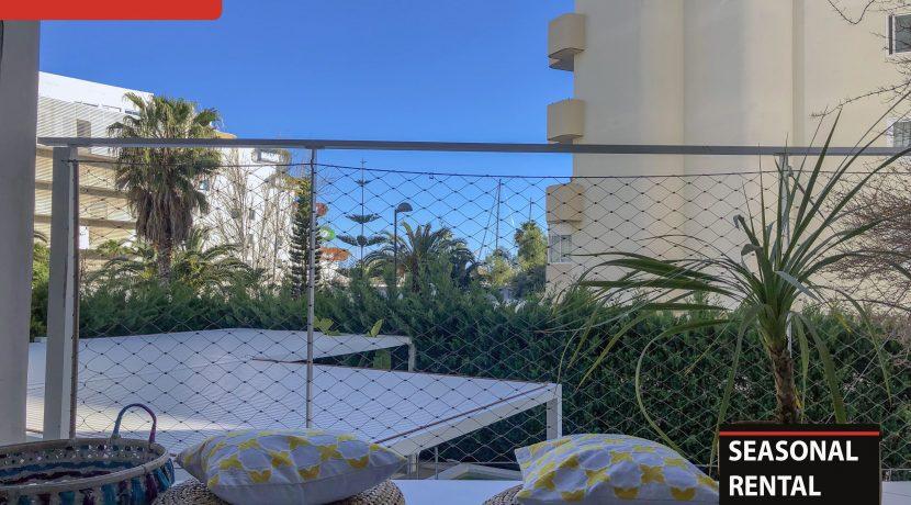 Seasonal rental Ibiza Patio Blanco En 2