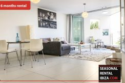 Seasonal rental Ibiza Patio Blanco En 3
