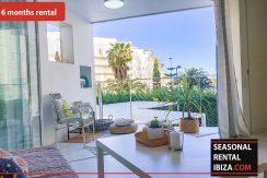 Seasonal rental Ibiza Patio Blanco En