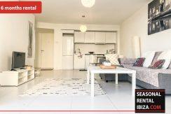 Seasonal rental Ibiza Patio Blanco En 5