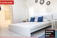 Seasonal rental Ibiza Patio Blanco En 6
