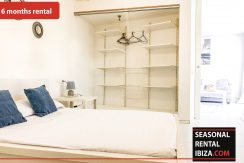 Seasonal rental Ibiza Patio Blanco En 8