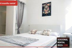 Seasonal rental Ibiza Patio Blanco En 9