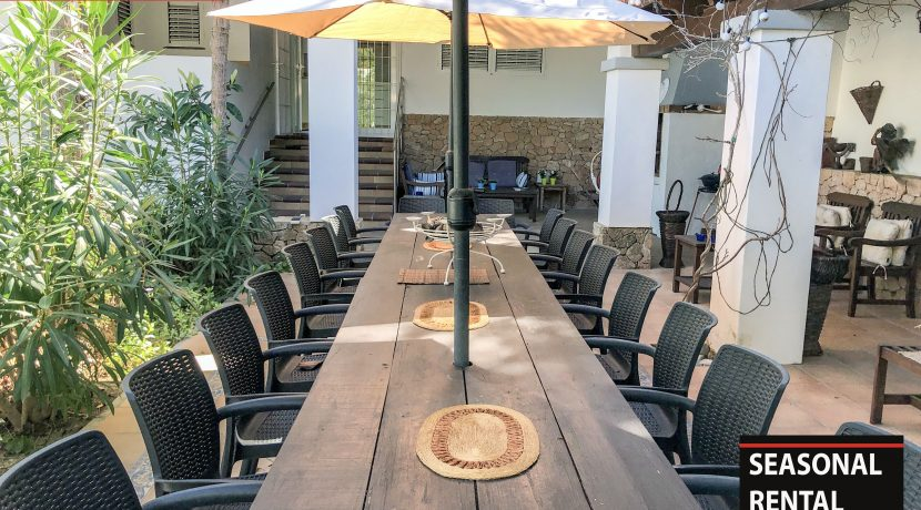 Seasonal rental Ibiza Villa Amnesia 9