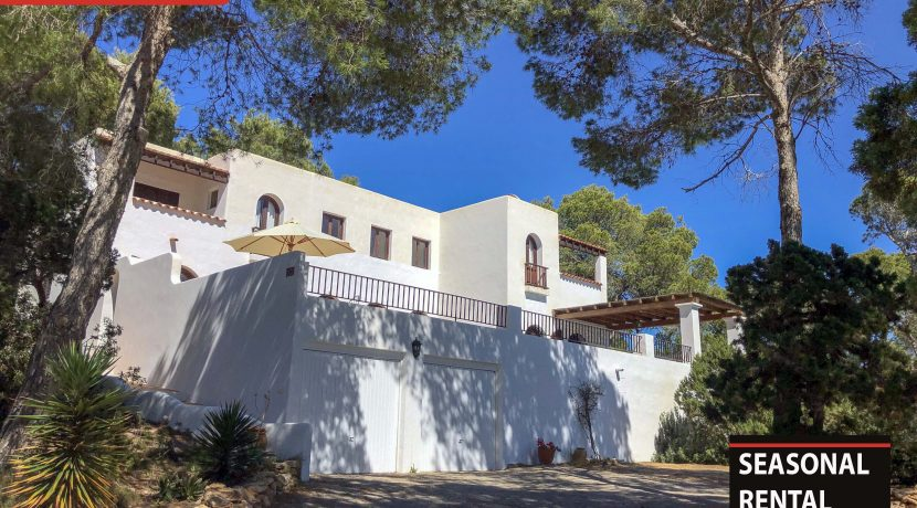 Seasonal rental Ibiza - Villa Tarida