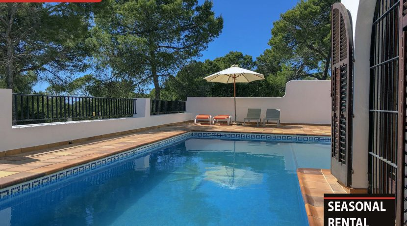 Seasonal rental Ibiza - Villa Tarida 1