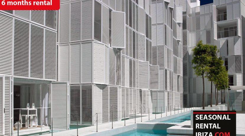 Seasonal rental Ibiza - Patio Blanco Pacha