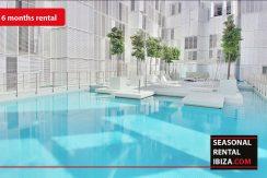 Seasonal rental Ibiza - Patio Blanco Pacha 1