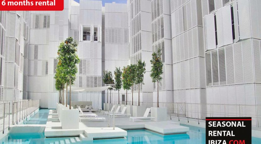 Seasonal rental Ibiza - Patio Blanco Pacha 16