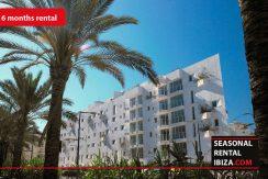 Seasonal rental Ibiza - Patio Blanco Pacha 6