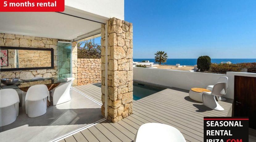 Seasonal rental Ibiza - Roca llisa Adosada
