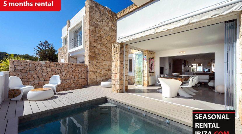 Seasonal rental Ibiza - Roca llisa Adosada 1