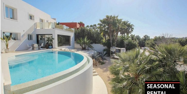 Seasonal rental Ibiza - Villa Blue