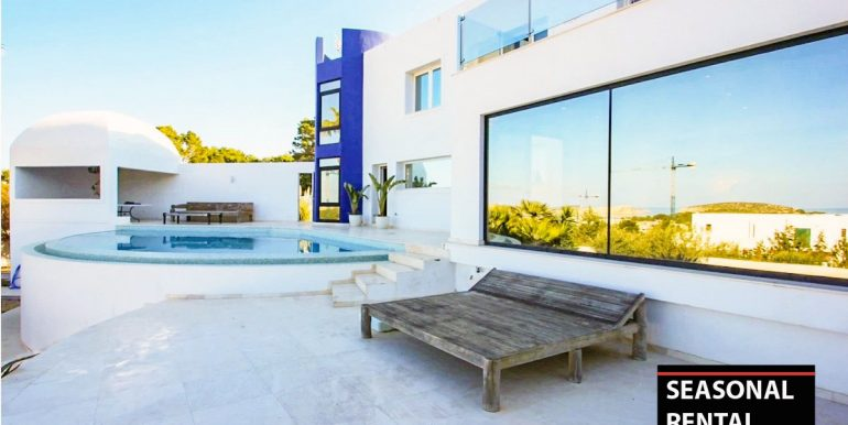 Seasonal rental Ibiza - Villa Blue 1