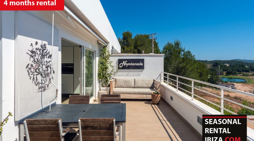 Sesaonal rental ibiza - Townhouse Golf 2