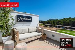 Sesaonal rental ibiza - Townhouse Golf 4